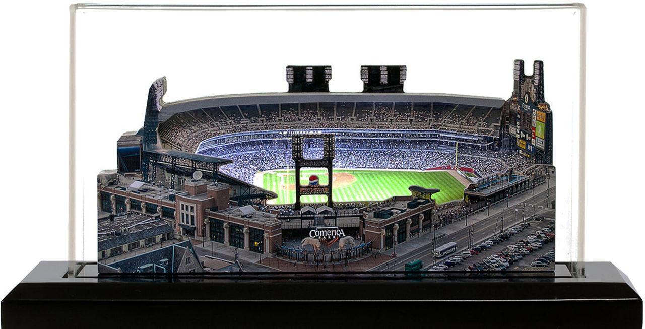 Comerica Park Detroit Tigers 3D Ballpark Replica