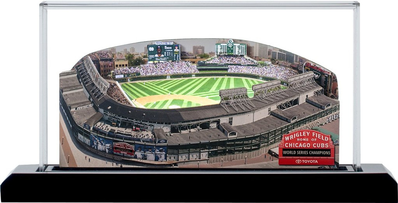 Wrigley Field Chicago Cubs 3D Ballpark Replica