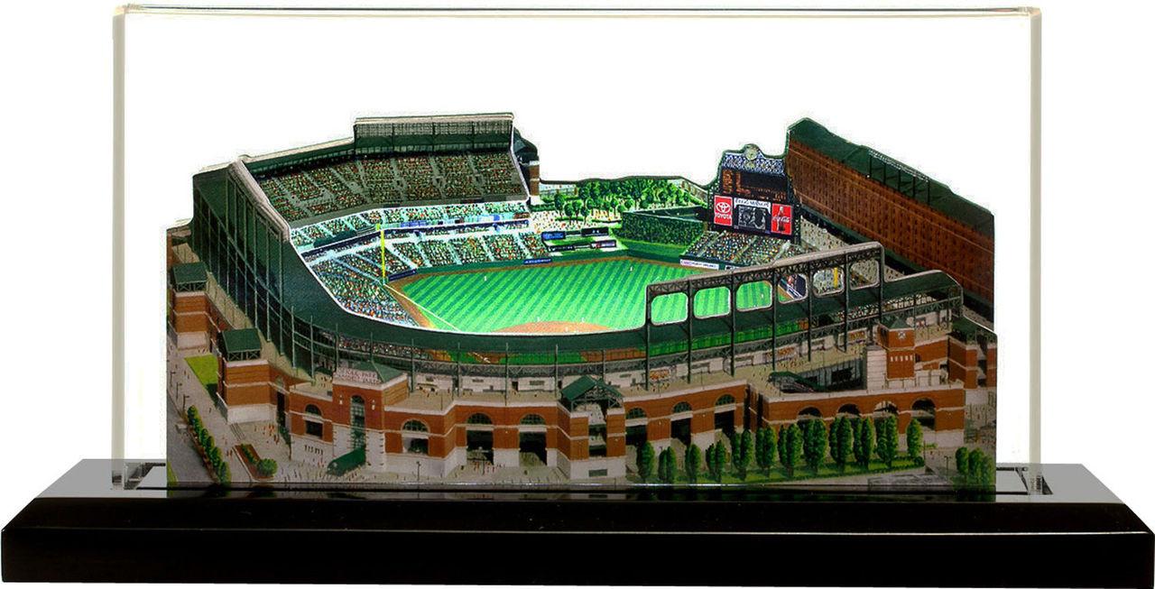 Camden Yards Baltimore Orioles 3D Ballpark Replica