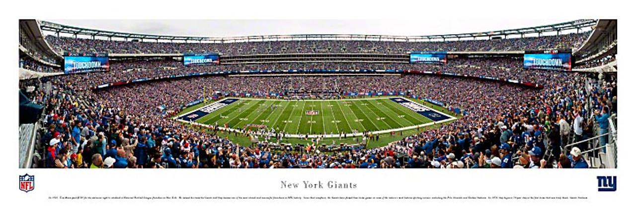 New York Giants at MetLife Stadium Panorama Poster 1