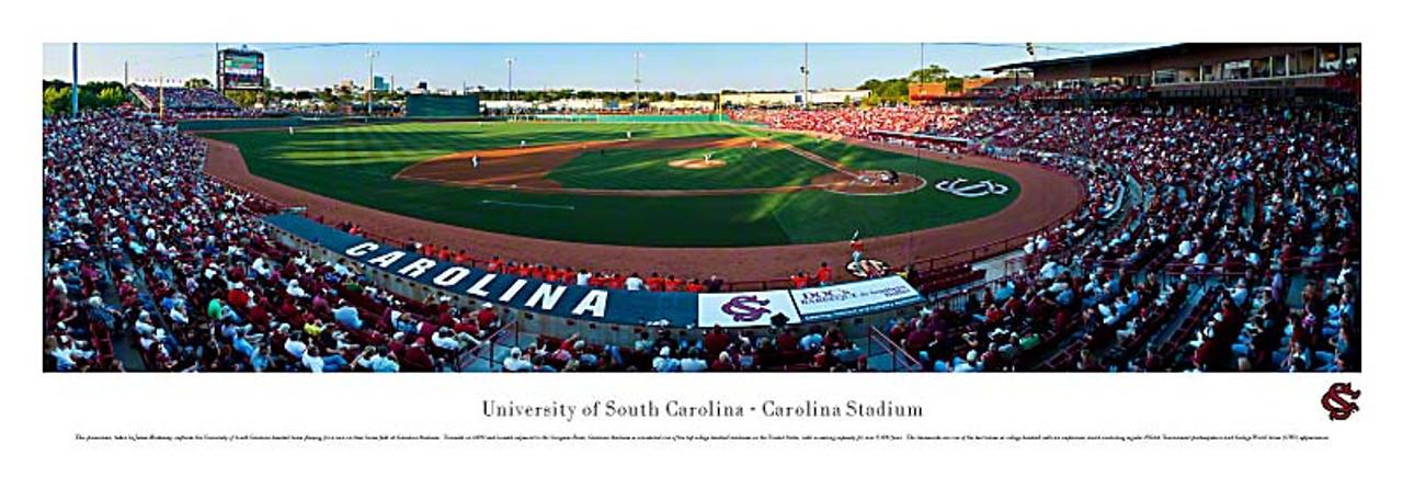 USC Gamecocks Baseball at Carolina Stadium Panorama Poster