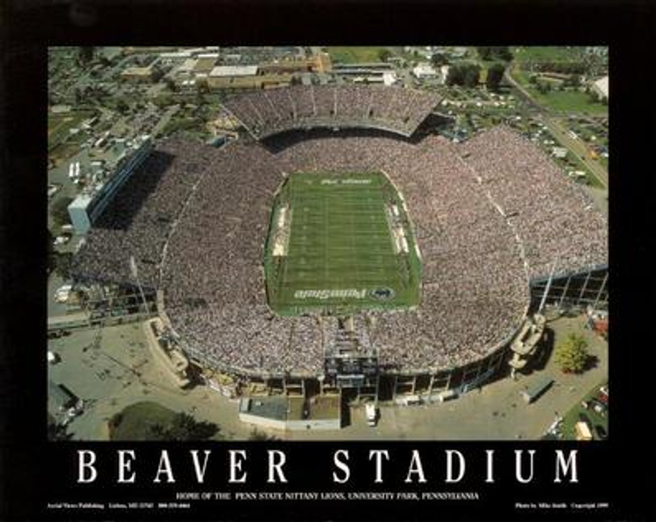 Beaver Stadium Aerial Poster