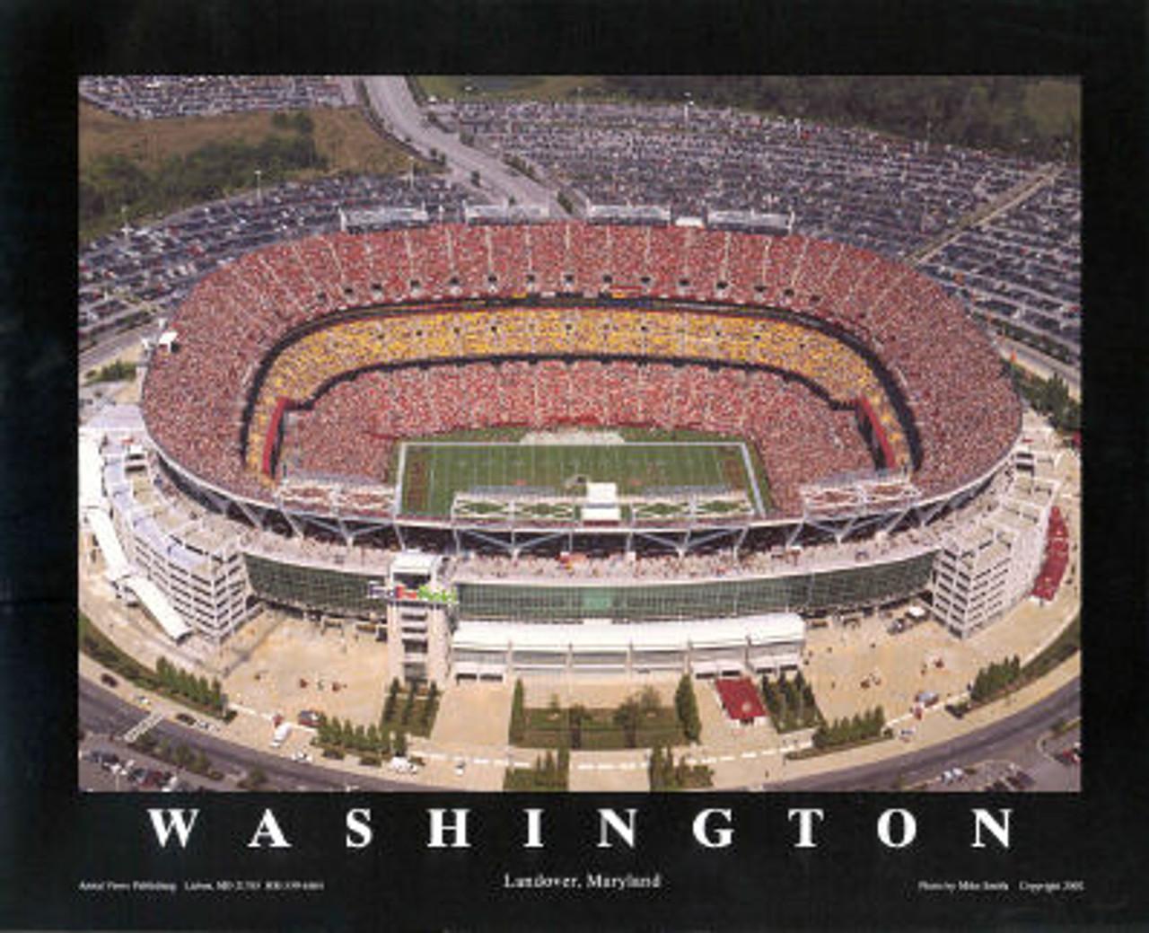 FedEx Field Aerial Poster