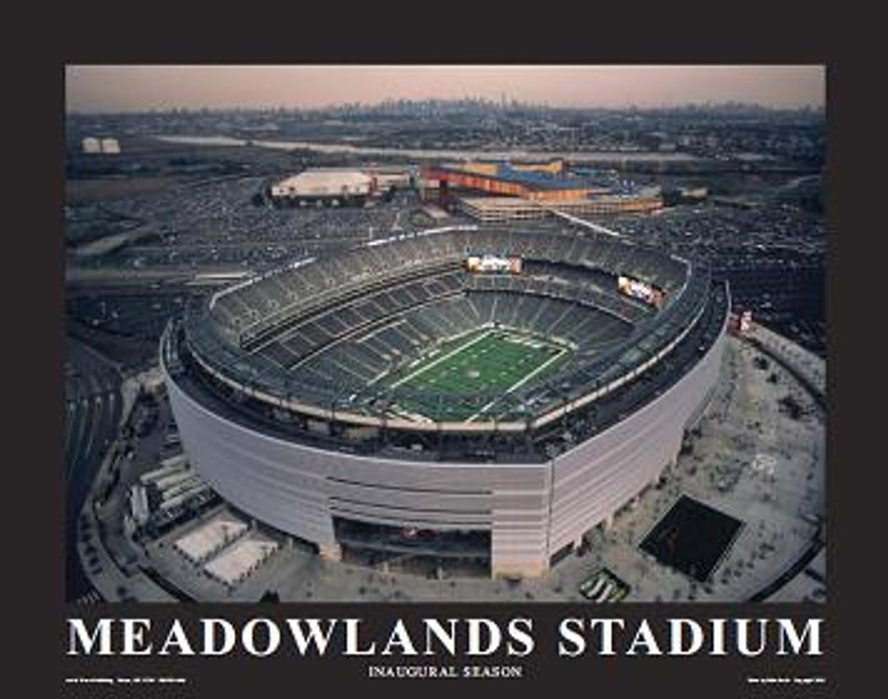MetLife Stadium New York Jets Aerial Poster
