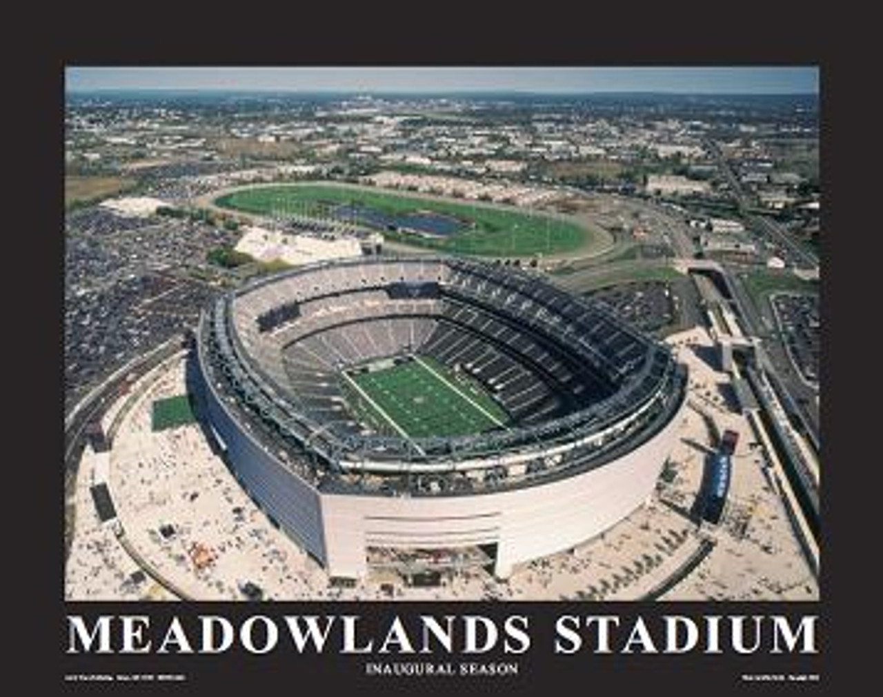 MetLife Stadium New York Giants Aerial Poster