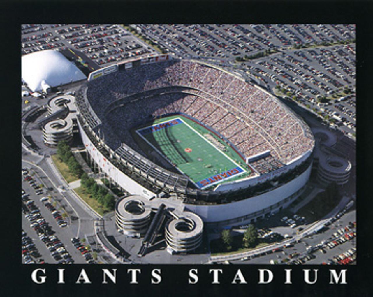 Giants Stadium New York Giants Aerial Poster