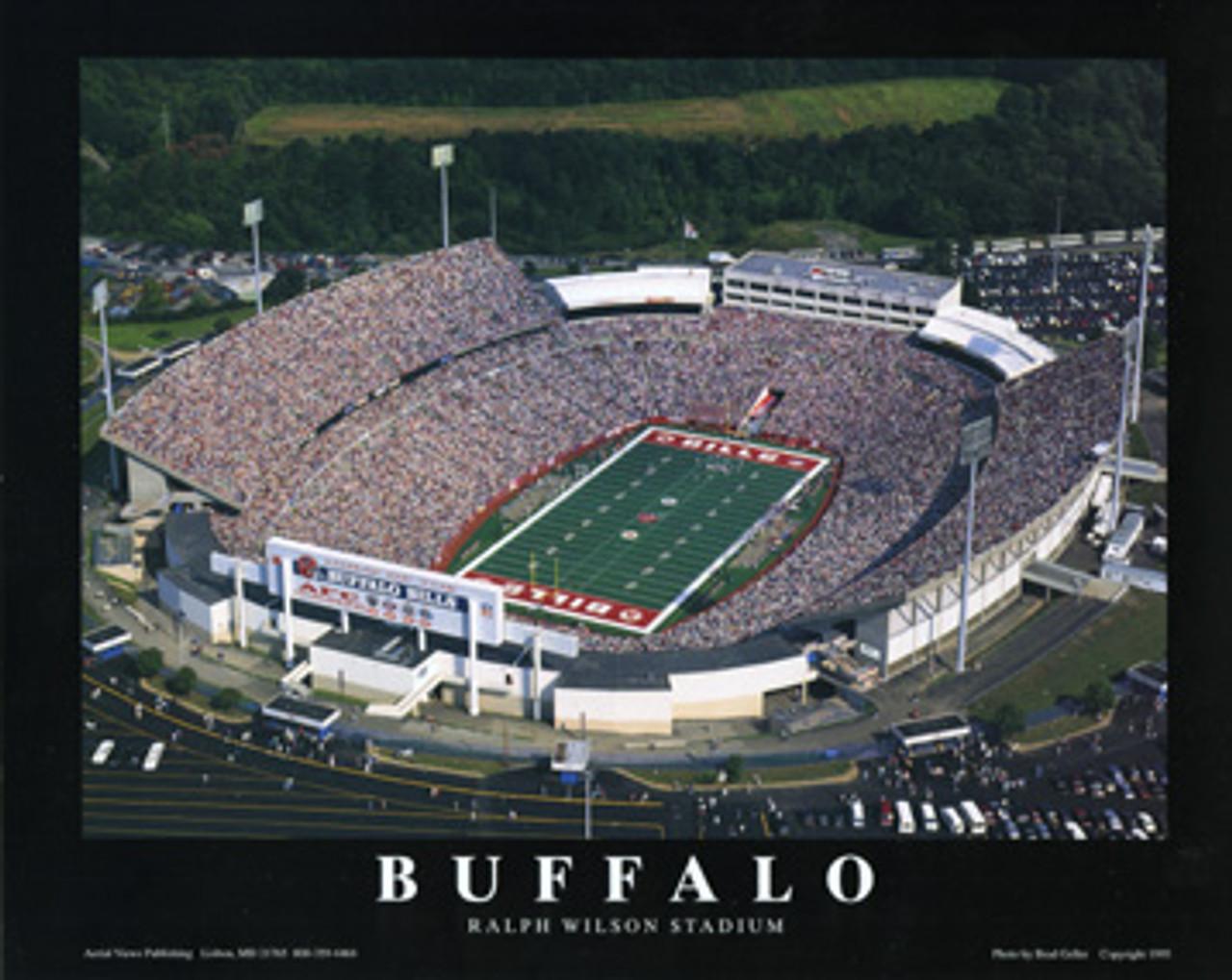 Ralph Wilson Stadium Aerial Poster
