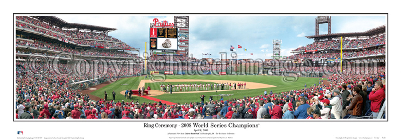 """Ring Ceremony"" Philadelphia Philleis Panoramic Framed Poster"