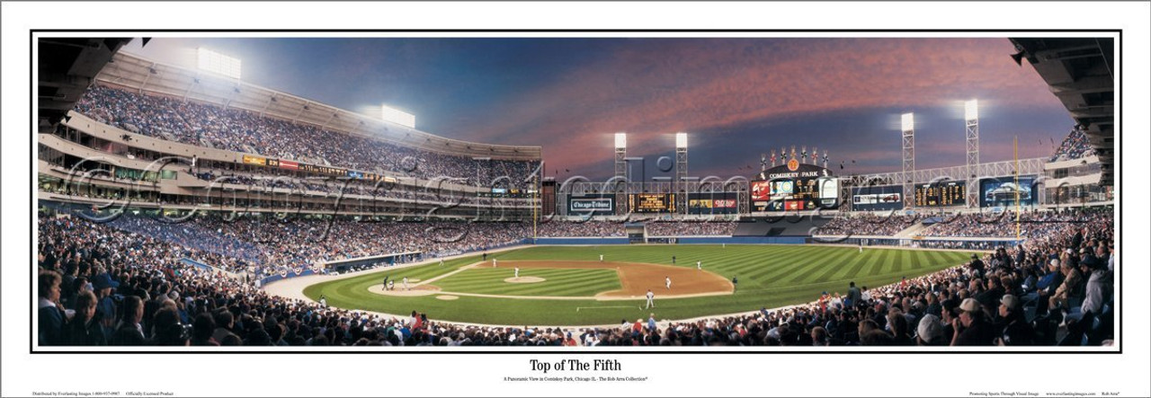 """Top of the Fifth"" Chicago White Sox Panoramic Framed Poster"