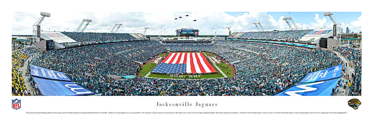 Jacksonville Jaguars at EverBank Field Panorama Poster 1