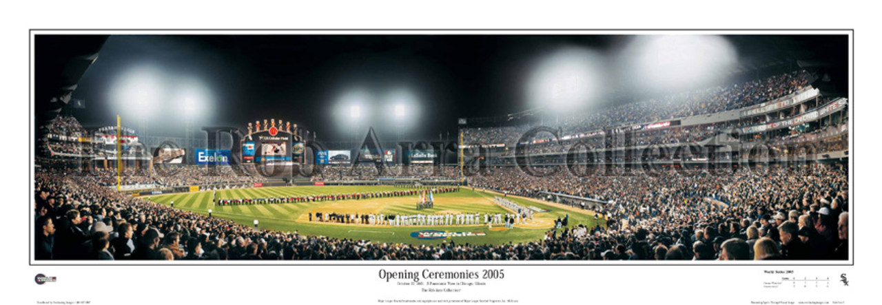 """2005 World Series"" Chicago White Sox Panoramic Framed Poster"