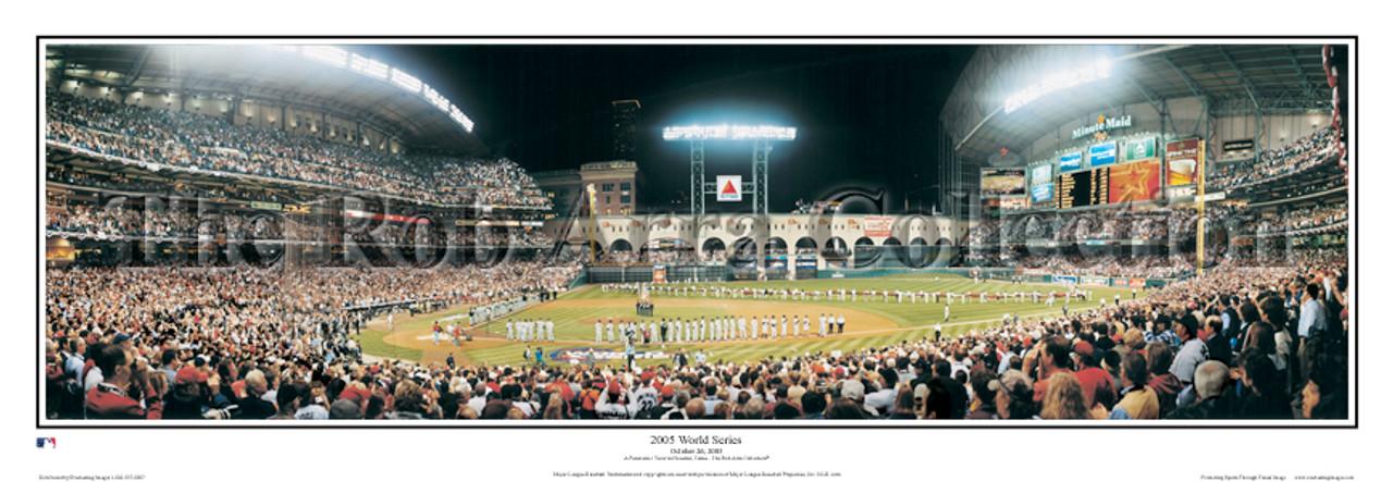 """2005 World Series"" Houston Astros Panoramic Framed Poster"