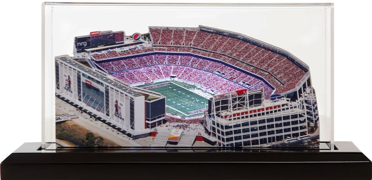 Levi's Stadium San Francisco 49ers 3D Stadium Replica