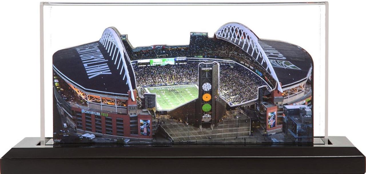 CenturyLink Field - Seattle Seahawks 3D Stadium Replica