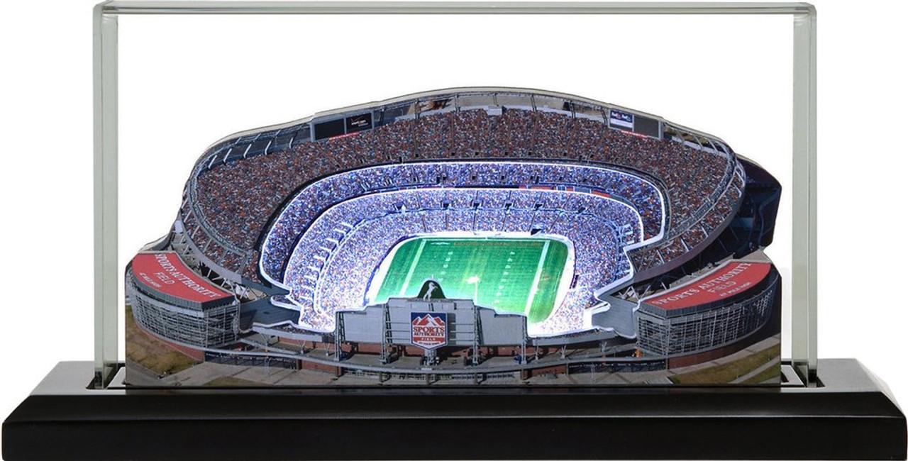 Sports Authority Field - Denver Broncos 3D Stadium Replica