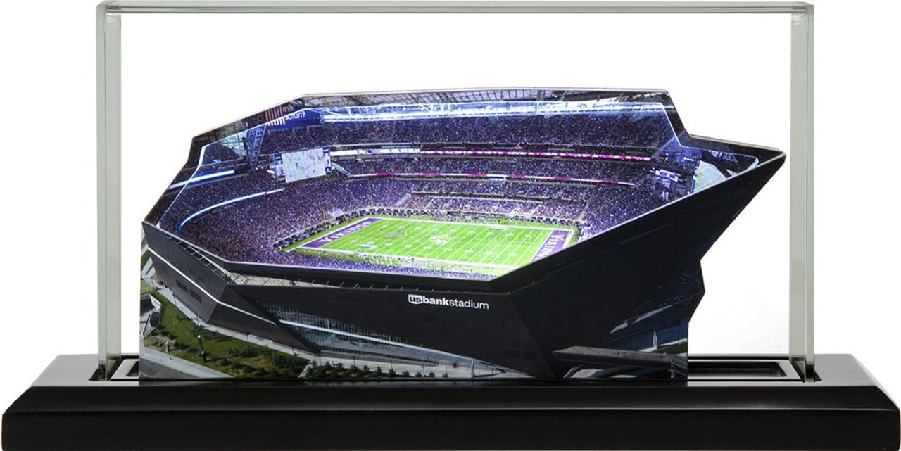 US Bank Stadium - Minnesota Vikings 3D Stadium Replica