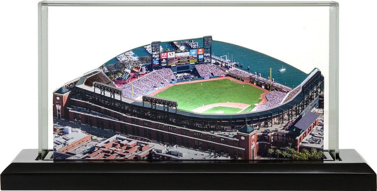 AT&T Park - San Francisco Giants 3D Stadium Replica