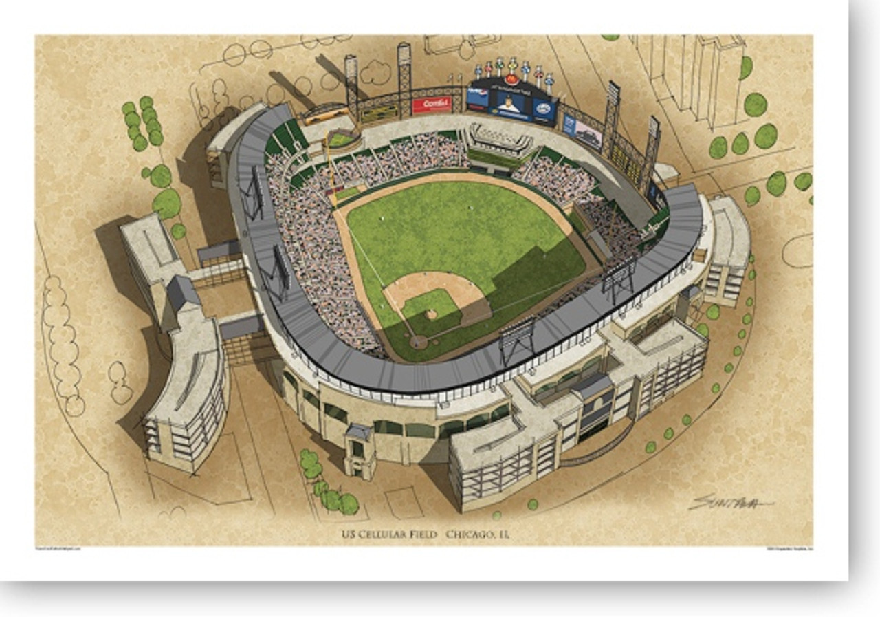US Cellular Field - Chicago White Sox Print