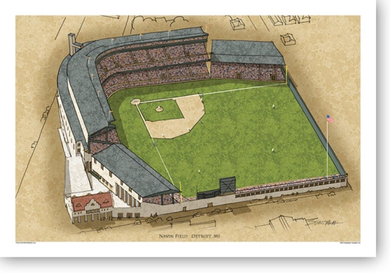 Navin Field - Detroit Tigers Print