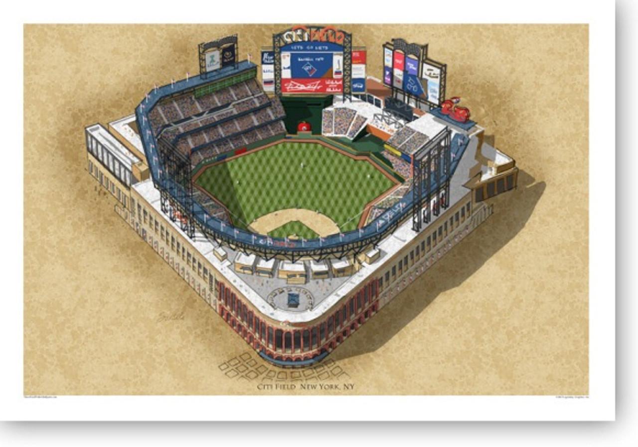 Citi Field - New York Mets  Print
