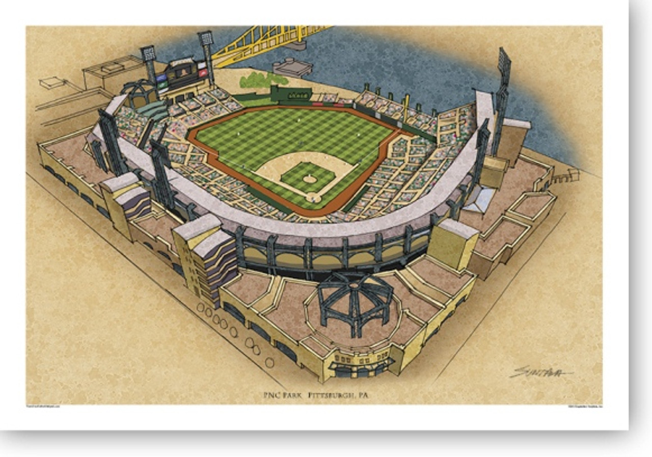 PNC Park - Pittsburgh Pirates  Print