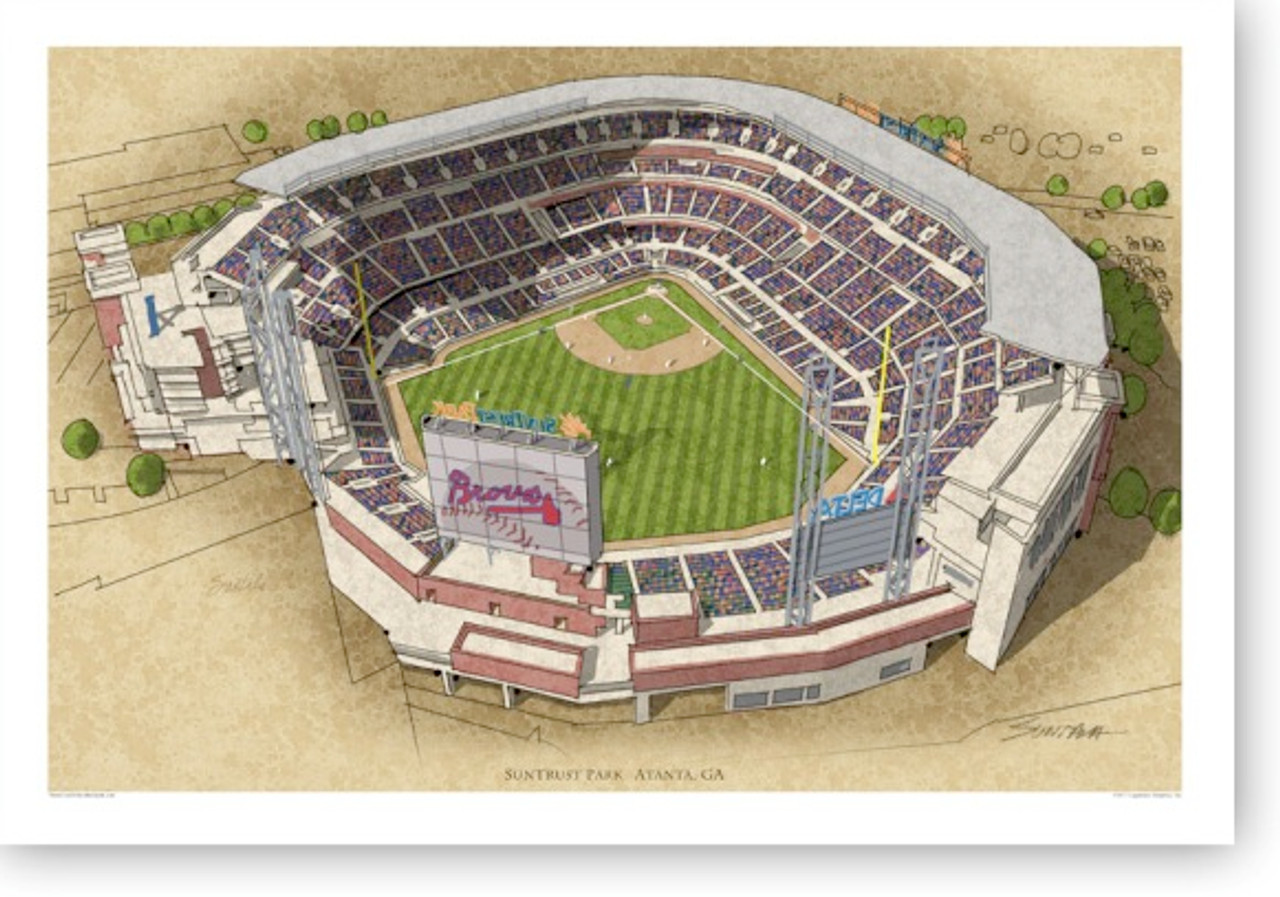 SunTrust Park - Atlanta Braves Print