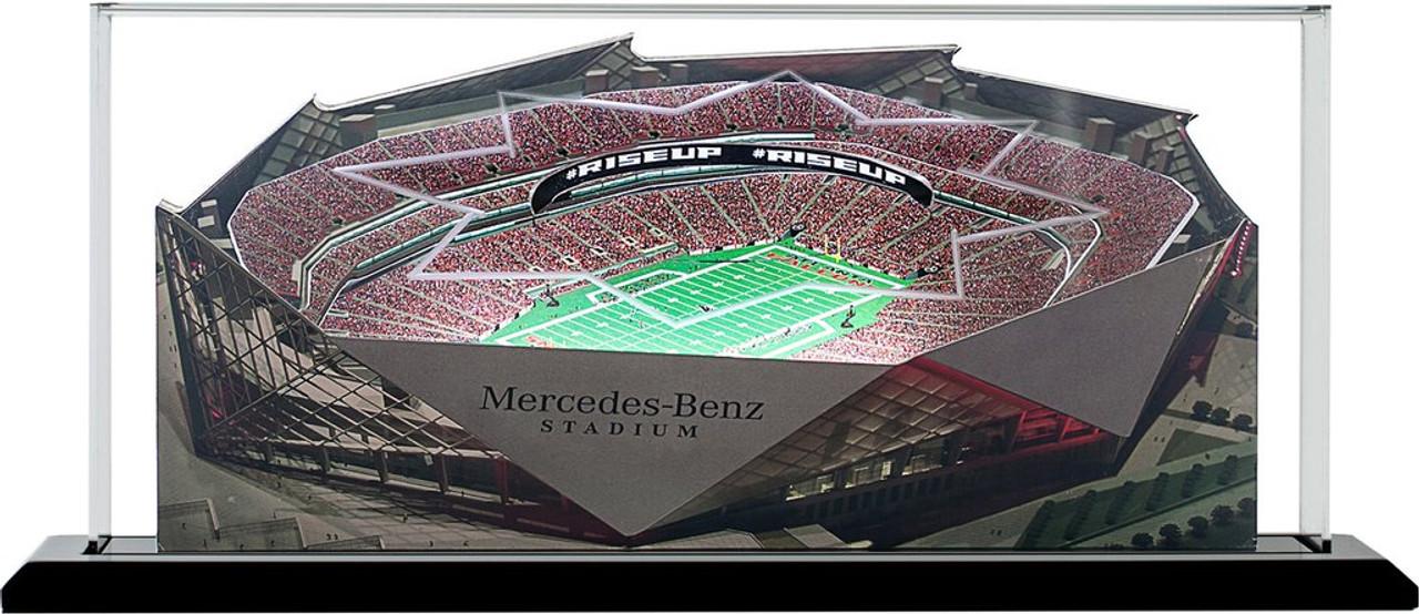 Mercedes-Benz Stadium Atlanta Falcons 3D Stadium Replica