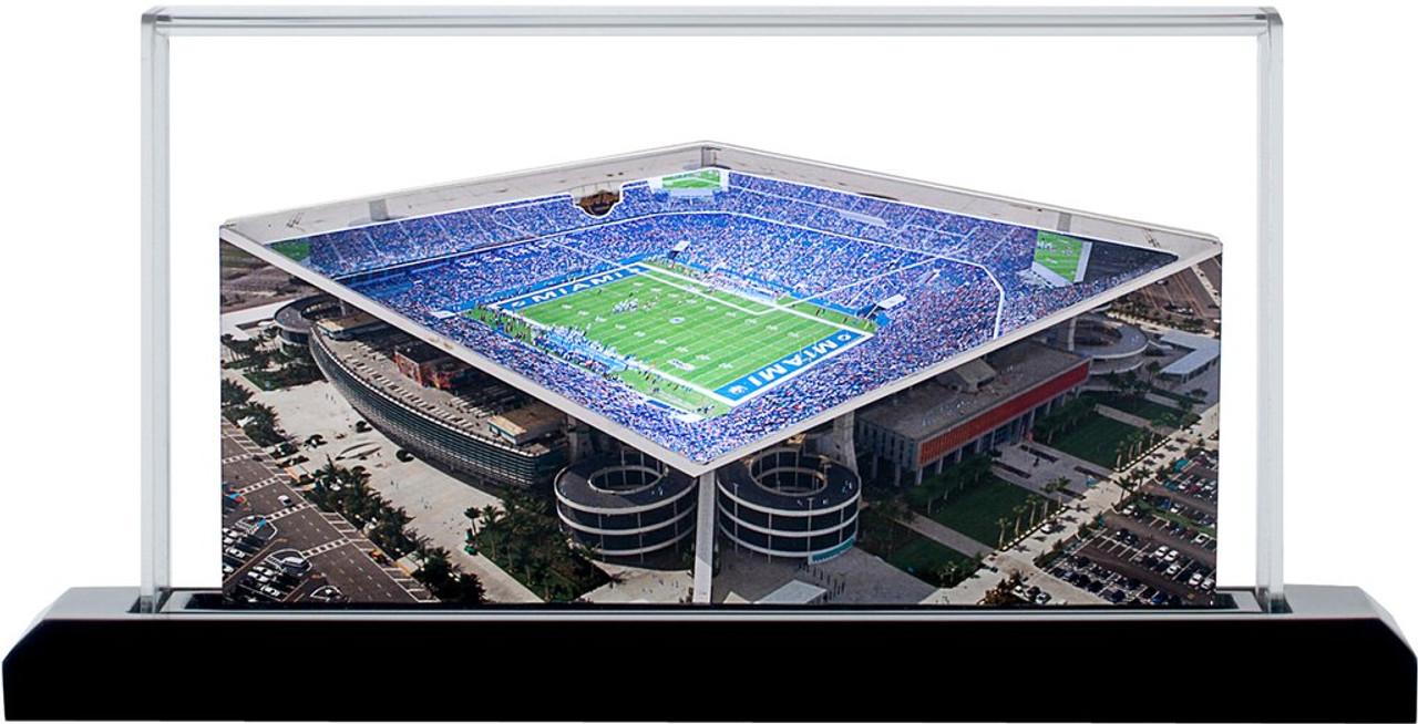 Hard Rock Stadium Miami Dolphins 3D Stadium Replica
