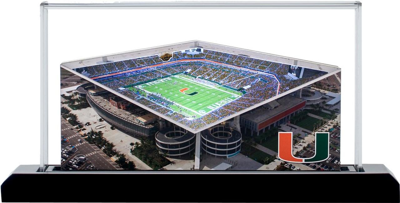 Miami Hurricanes - Hard Rock Stadium 3D Stadium Replica