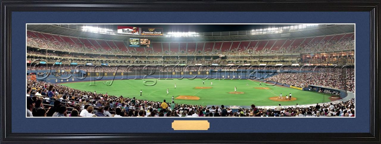 Pittsburgh Pirates at Three Rivers Stadium Panoramic Poster