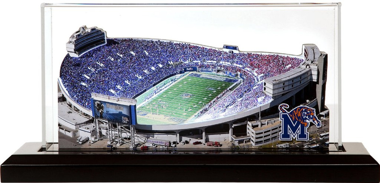 Memphis Tigers Liberty Bowl 3d Stadium Replica