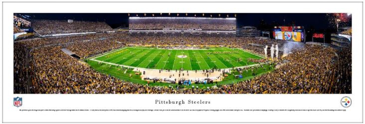 Pittsburgh Steelers at Heinz Field Panoramic Poster