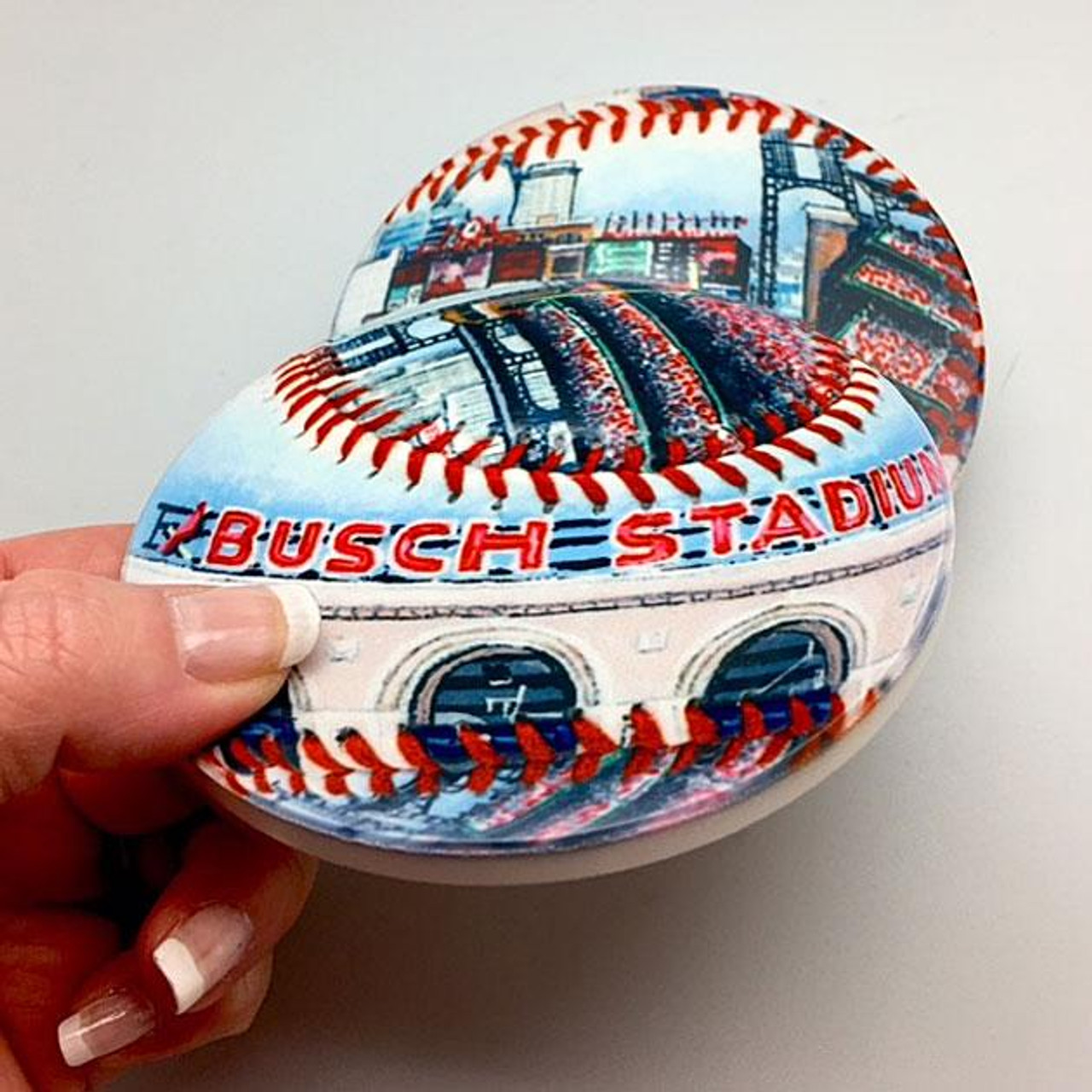 Busch Stadium Coaster Set
