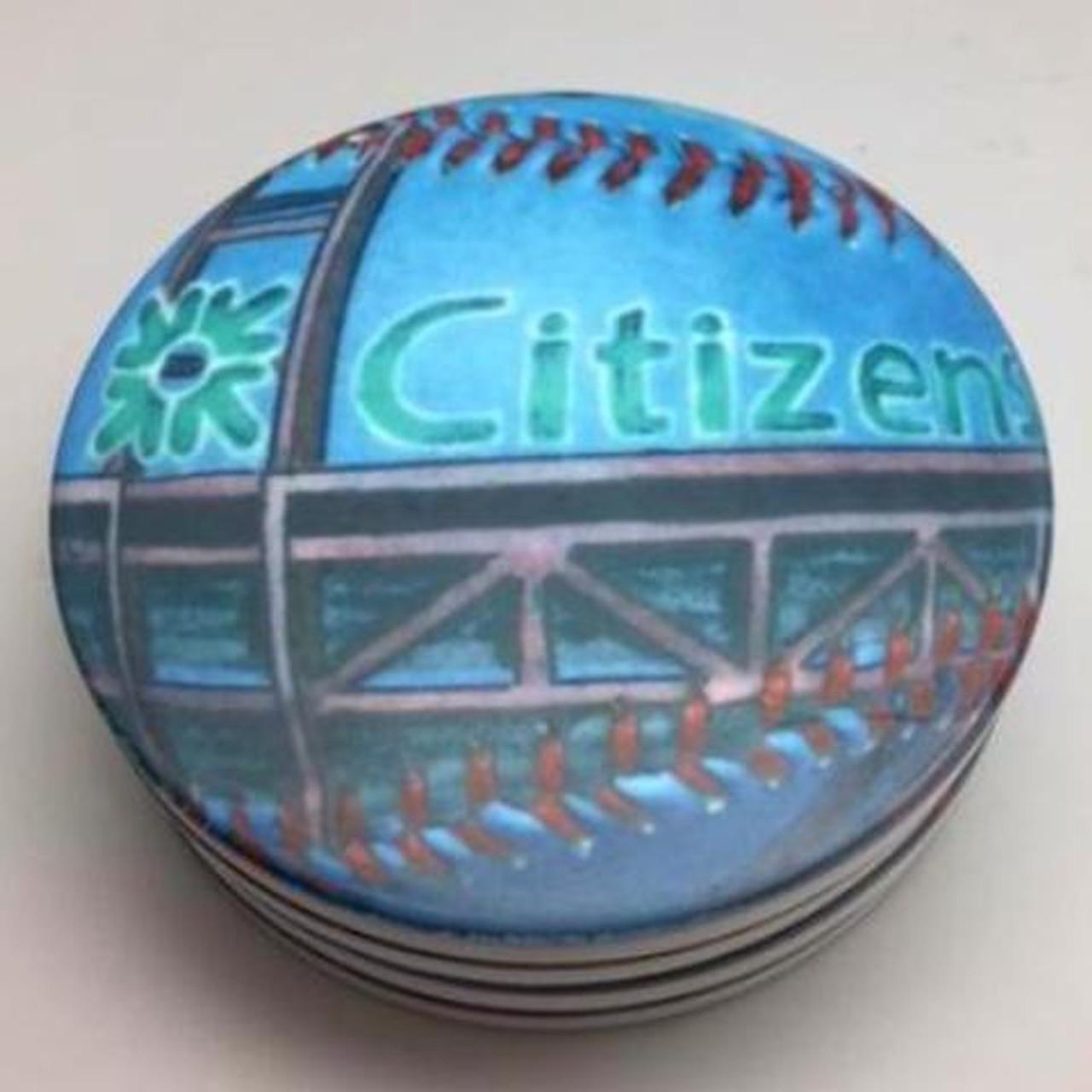 Citizens Bank Park Coaster Set