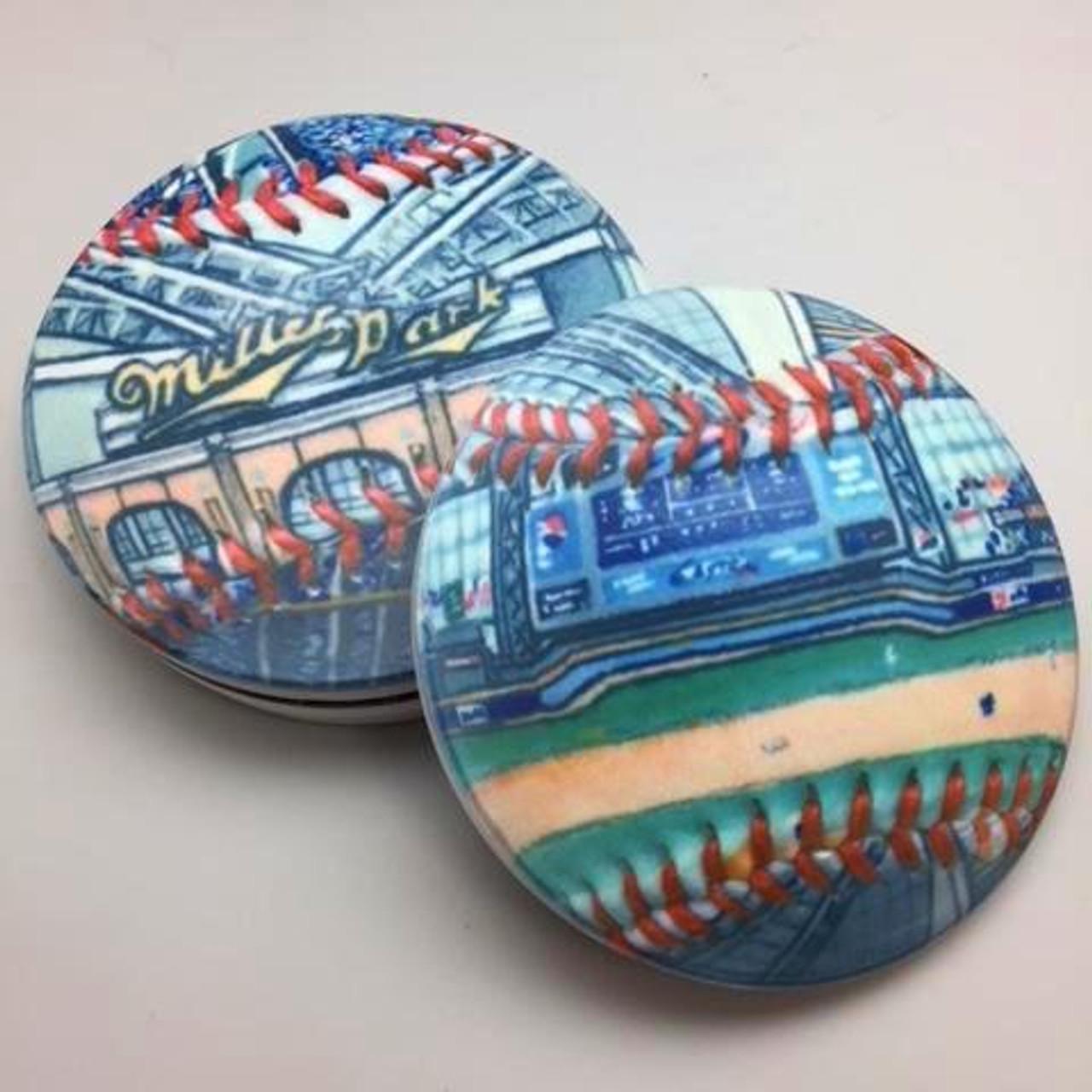 Miller Park Coaster Set