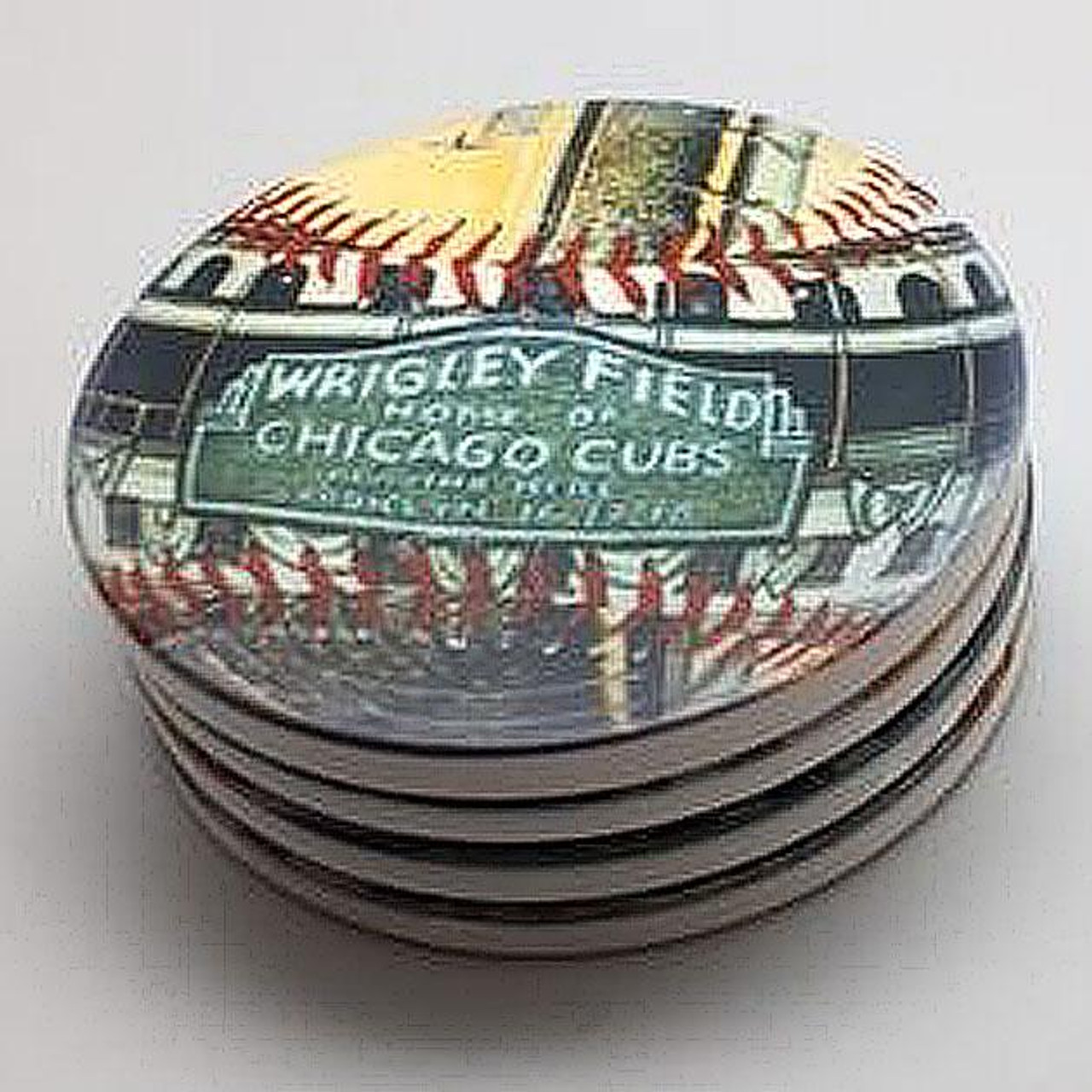 Wrigley Field Park Coaster Set
