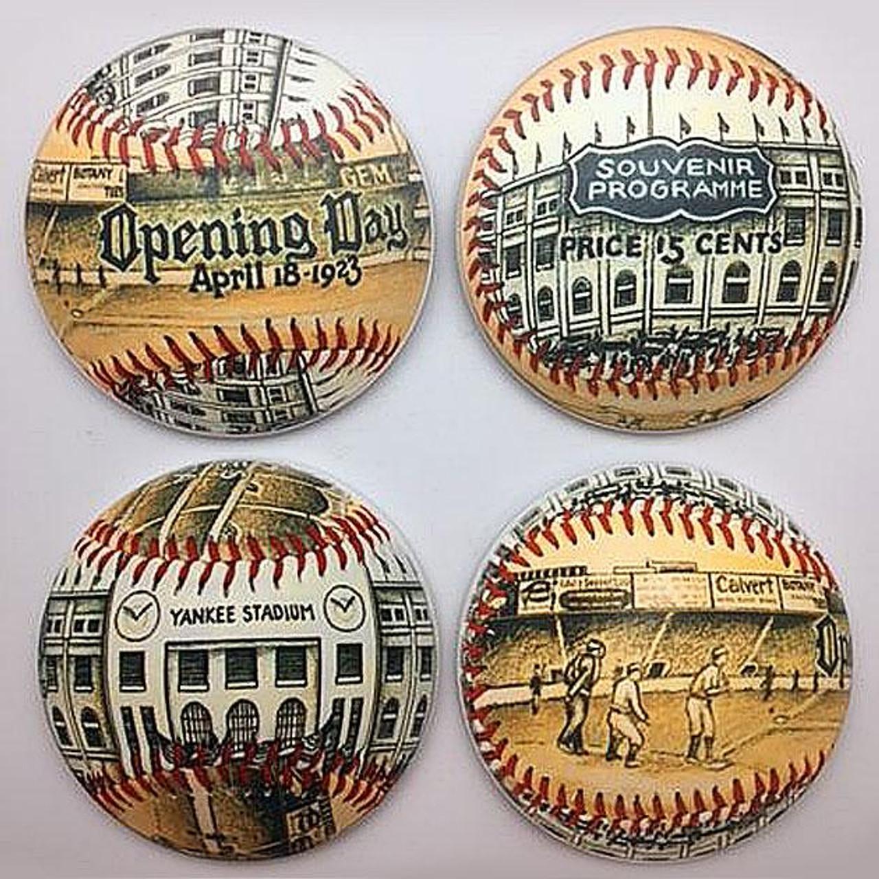Yankee Stadium Park Coaster Set