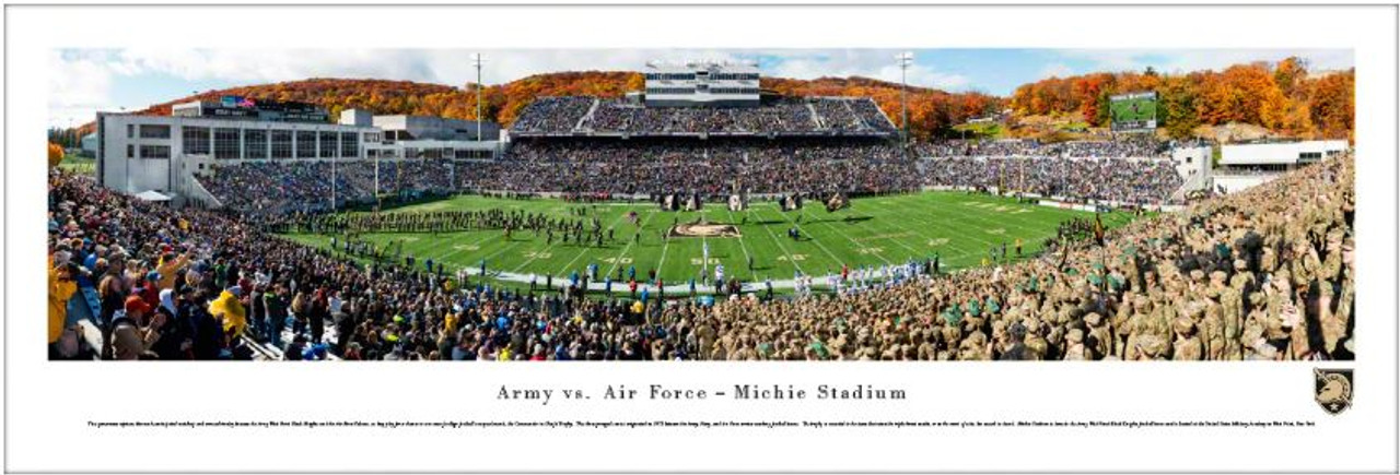 Army Black Knights vs Air Force Falcons at Michie Stadium Panoramic Poster
