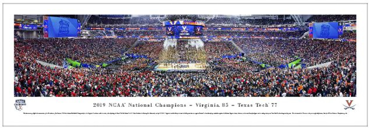 2019 NCAA® Final Four® Champions Basketball Panorama - Virginia Cavaliers