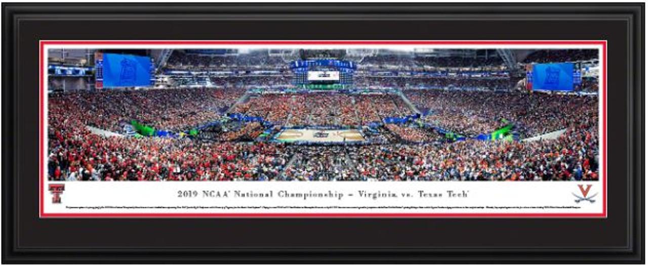 2019 NCAA® Final Four® Tip-off Basketball Panorama - Texas Tech Red Raiders