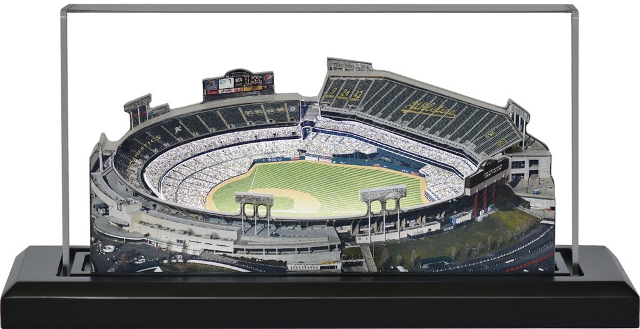 Oakland Coliseum - Oakland Athletics 3D Stadium Replica
