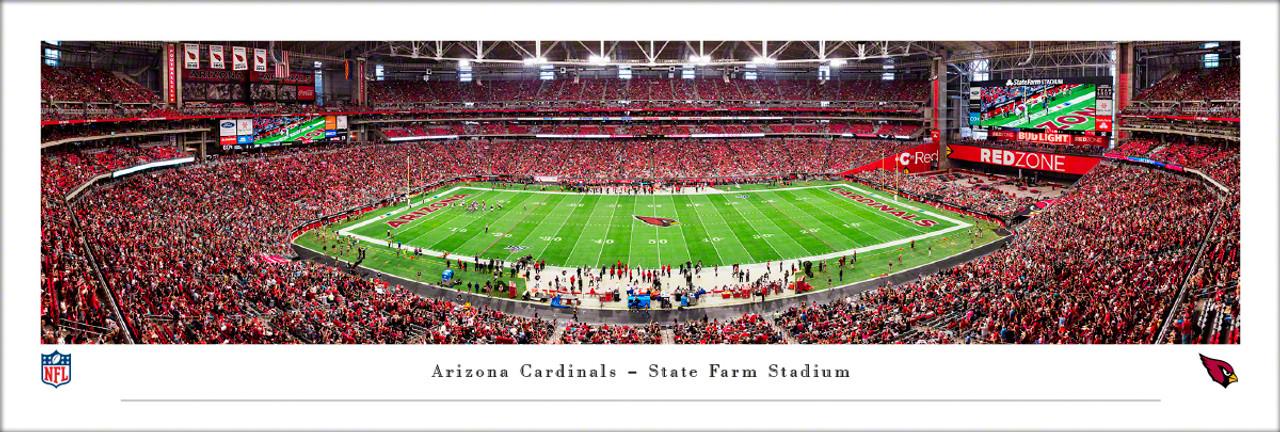 Arizona Cardinals at State Farm Stadium Panoramic Poster
