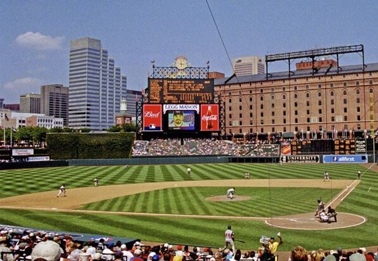 Baltimore Orioles at Camden Yards Lower Deck Print