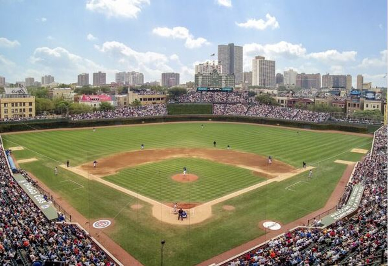 Chicago Cubs at Wrigley Field Print