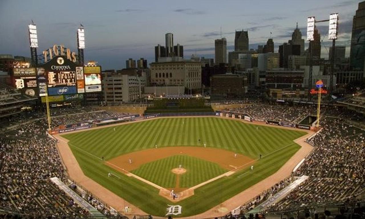 Detroit Tigers at Comerica Park Print