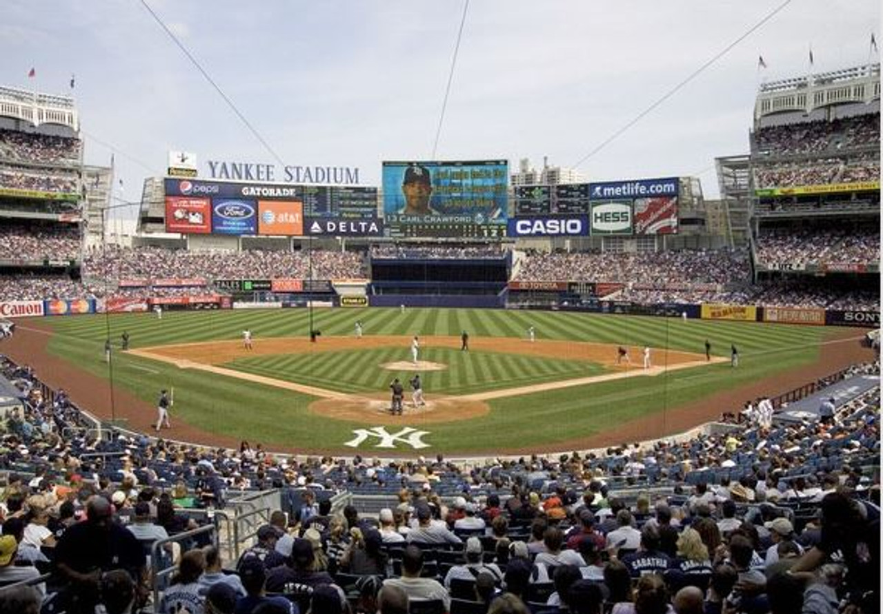New York Yankees at Yankee Stadium Lower Deck Print