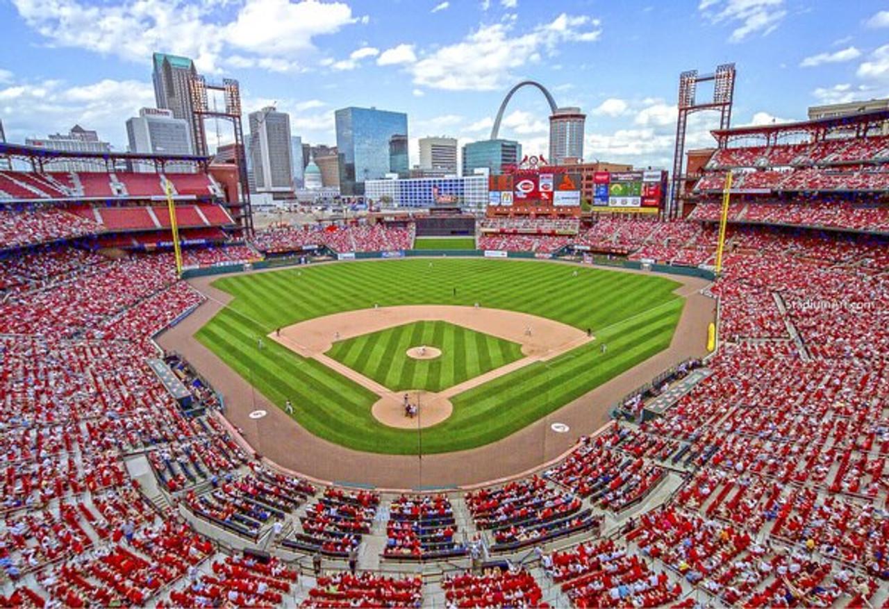 St. Louis Cardinals at Busch Stadium Upper Deck Print