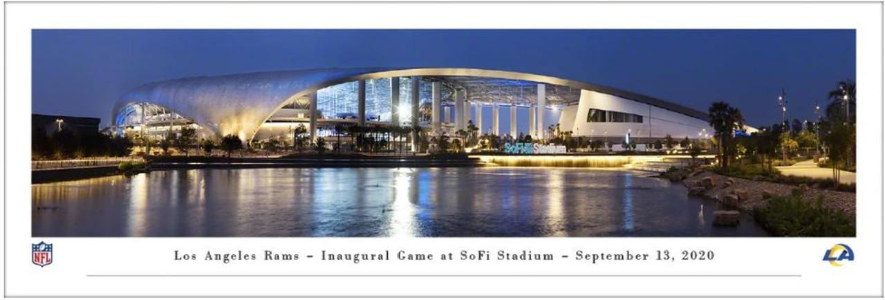 Los Angeles Rams at SoFi Stadium Panoramic Poster