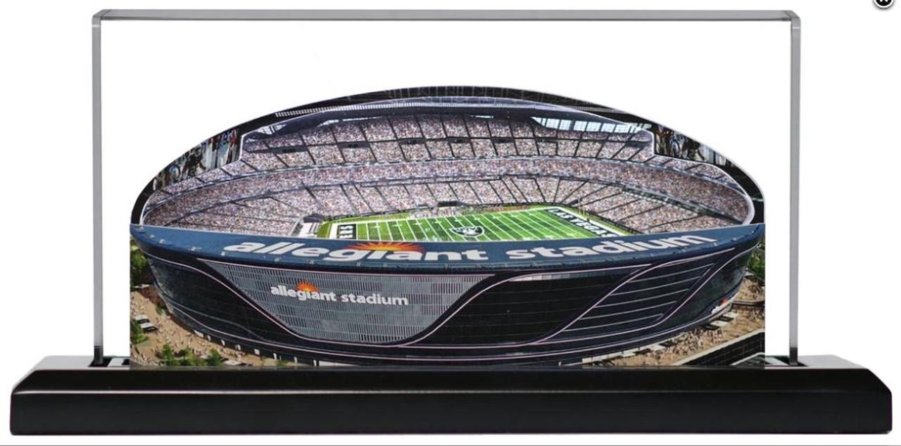 Allegiant Stadium Las Vegas Raiders 3D Stadium Replica