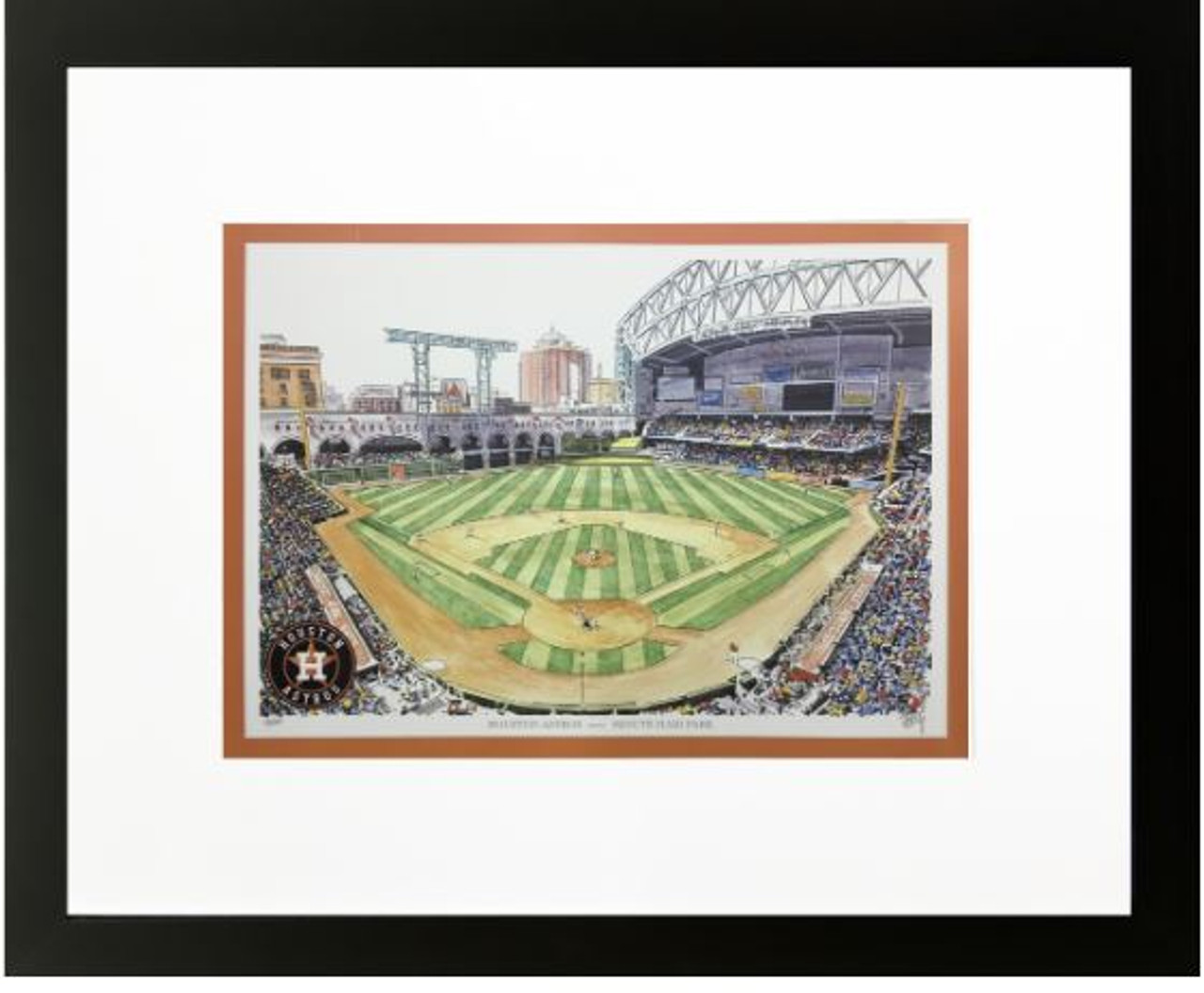Minute Maid Park - Houston Astros Art Print
